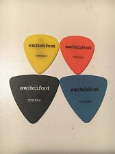 ONE- 2016 Switchfoot Tour Used Black Guitar Pick JON FOREMAN