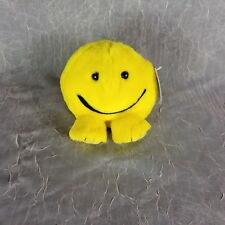 SWIBCO Puffkins 1998 Happy Smiley Face Plush Beanbag 6684