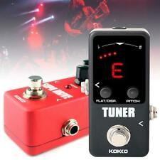 KOKKO Mini Electric Guitar Bass Effect Pedal Tuner / Supa Drive True Bypass