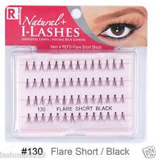 Response Natural Rich Looking Natural Individual Lashes Flare Short Black No 130