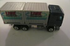 vintage BOX VAN TRUCK// DIECAST //CHINA LINK TRANSPORT HO