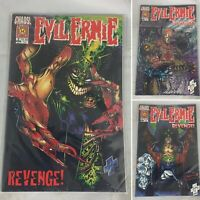 (Lot Of 3) Evil Ernie: Revenge #2, 3, 4 Chaos! Comics First Printing December 94