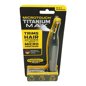 MicroTouch Titanium MAX Professional Grade All-In-One Personal Trimmer