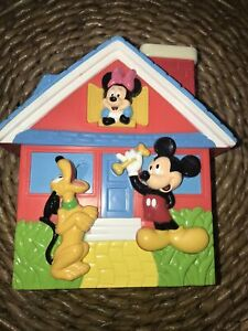 Tootsie Toy Disney Mickey Pluto Minnie Piggy Bank