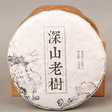 Pu-erh Tea 100g Raw Pu'er Tea Handmade Ecology Old Tree Organic Green Sheng Puer