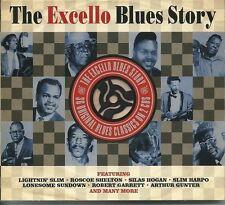 THE EXCELLO BLUES STORY - 2 CD BOX SET - LIGHTNIN' SLIM, ROSCOE & MORE