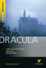 """York Notes sur """" Dracula """" ( Avancée) par Bram Stoker, Tba Livre de Poche Bo"""