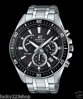 EFR-552D-1A Black Casio Men's Watches Edifice Date Day 24h Stopwatch 100m New