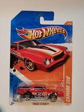 Hot Wheels 2011 Track Stars Camaro Z28 Card #7/15 Series #72/244 Long Card