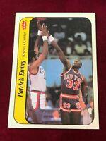 1986 Fleer Sticker #6 PATRICK EWING New York Knicks  (PL1)
