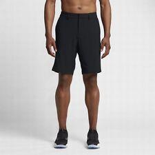 NIKE Golf Men's Flat Front Stretch Woven Golf Short Size 34 Black 833224-010