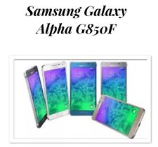 Samsung Galaxy Alpha SM- G850F Silver Unlocked LIKENEW 32gb 4g Smartphone