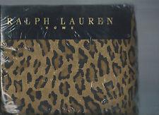 Ralph Lauren Aragon Guinevere Leopard Queen Flat Sheet New 1st Quality