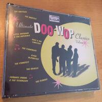ULTIMATE DOO-WOP CLASSICS Volume 1 BRAND NEW & FACTORY SEALED 3 CD SET RARE OOP