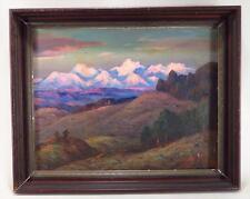 Eliot Clark California  Mountain Landscape Modernism  American Sourthern Artist