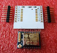 10PCS ESP8266 Esp-07 Remote Serial Port WIFI Module+ IO adapter plate Expansion
