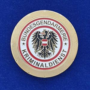 ehemalige Polizeimarke Bundesgendarmerie Österreich Kriminaldienst