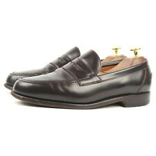 Alfred Sargent 'Barnes' Brown Leather Loafers UK 8 EX