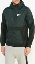 Nike Mens Sport Full Zip Fleece Hoodie Jacket - Sz L - 863781 332 - FernGreen