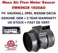 Mass Air Flow meter Sensor 5WK9628 1920AG OEM for CITROEN PEUGEOT FIAT LANCIA