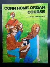 Conn Home Organ Course Part 1