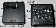 Original Nikon EH-69P charger AC Adapter Compatible with Select Coolpix Cameras