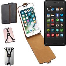 pour Amazon Fire Phone Housse coque étui protection Flip Style Case 360° noir