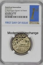 2018 S REVERSE PROOF American Innovation Dollar $1 NGC 70 First Day Issue