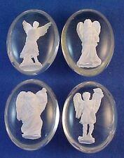 Rare 4 ARCHANGEL Pocket Stones St Michael Raphael Gabriel Uriel By Angel Star