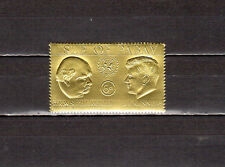 Stamps. Isle Of Pabay Kennedy ( Jfk ) and W Churchill Mnh