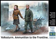 Master Box 1/35 Volkssturm. Ammunition to the Frontline # 35182