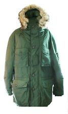 Ralph Lauren Mens Uri Swiss Parker Jacket Coat Olive Green Large