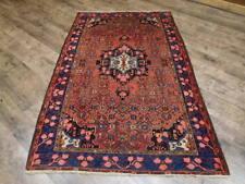 Ca1880 Vgdy Antique Persian Afshari Seneh Bijar Bijar 4.4x6.10 Estate Sale Rug