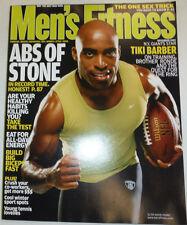 Men's Fitness Magazine Tiki Barber & Healthy Habits November 2003 030615R