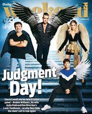 UK WEEKEND Magazine 08/2018: LOUIS TOMLINSON Ayda Field ROBBIE WILLIAMS X Factor