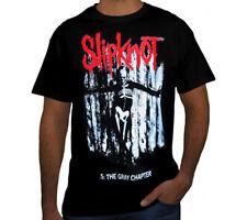 SLIPKNOT THE GRAY CHAPTER PUNK ROCK Black T Shirt