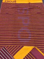 Sports Towel 70x130 Sauna Shower Bath Beach Orange/Burgundy