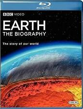 Earth - The Biography (Blu-ray 2 disc) BBC documentary NEW sold as is