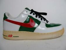 RARE NIKE AIR FORCE 1 PREMIUM MEXICO 2006 WORLD CUP PATENT MANS SNEAKER SHOE~9.5