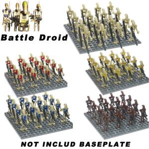 20Pcs/set Star Wars Battle Droids Super Combat Robot K-2SO Minifigures Fit Lego