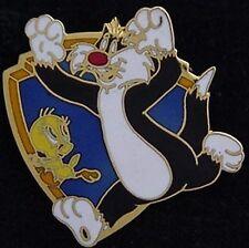 Sylvester & Tweety Bird Pin ~ Looney Tunes ~ vintage:1989~by Pinnacle Designs