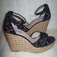 Steve Madden Marrvil Black Wedge Size 10 new