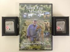 Buy 2 Silva Fox Whistle & DVD *PACKAGE DEAL*Call up to 1000 yards. Fast Shipping