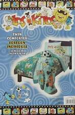 LOS KITOS SOCCER TWIN COMFORTER SHEETS 4PC BEDDING SET NEW