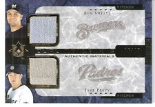 2005 Upper Deck Ultimate Collection Dual Materials Sheets/Peavy JSY #BJ #'d 5/15