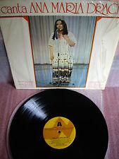 ANA MARIA DRACK: Canta.  Edicion Especial Circulo   Lp - Vinilo  Spain 1978