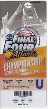 2013 Final Four Championship Full Unused Ticket Louisville Michigan