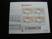 PORTUGAL - timbre yvert et tellier europa bloc n°55 n** - stamp portugal
