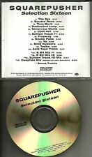 SQUAREPUSHER Selection Sixteen ORIGINAL 4 BONUS GOLD TST PRESS ADVNCE PROMO CD