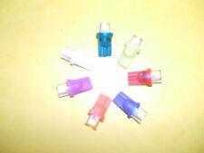 5 ampoules LED #555 neuve 7 couleur au choix angle 120° neuves